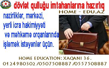 Dövlət qulluğuna hazırlıq kursları