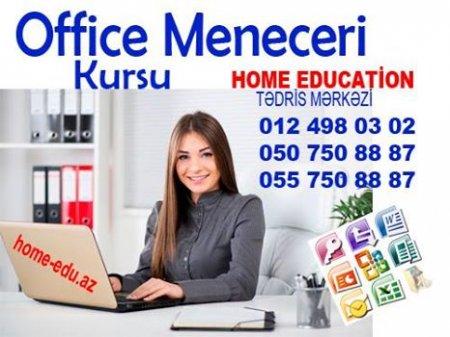 ofis menecer və katibə